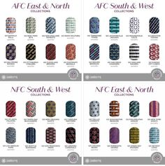 NFL Collection By Jamberry, Volume 2!!! These ones have sparkle and metallic finishes.  Jamberry is hearing our ideas and following through ladies. Sport your team!! We are on to week 7!!! Available tomorrow, October 18th. Typically when they release a 2nd volume it means the 1st volume is about to retire. Get yours now to have your nails ready for the games. https://toutzen.jamberry.com/us/en/shop/shop/for/nail-wraps?collection=collection%3A%2F%2F1143