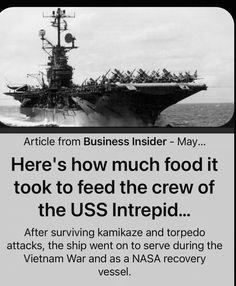 Uss Intrepid, Vietnam War, Survival