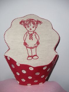 vide poche redwork Stitches Wow, Couture, Needle And Thread, Blackwork, Hand Embroidery, Needlework, Craft Projects, Polka Dots, Cross Stitch