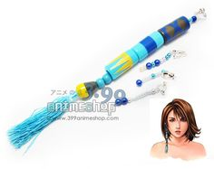 399 Anime Shop is under construction Final Fantasy Merchandise, Anime Merchandise, Yuna Cosplay, Costume Tutorial, Final Fantasy X, Cosplay Characters, Fandoms, Earring Set, Tassel Necklace