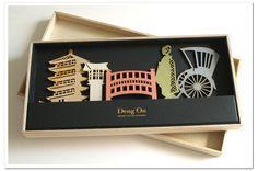 【楽天市場】Deng On(デングオン) KOTO「古都」 キーボードに立てるメモ!【ゆうパケット送料無料♪】和の文化を象徴する雅なシルエット!豪華な桐箱を使い大切な方への贈答品に喜ばれています。通販のオファー /02P03Sep16:通販のオファー