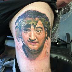 John Belisha tattoo