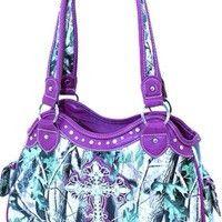 Camo Cross Rhinestone Handbag – All Things Country - Modern Camo Purse, Backpack Purse, Laptop Backpack, Fox Purse, Cute Purses, Purses And Bags, Bling Purses, Muddy Girl Camo, Cross Purses