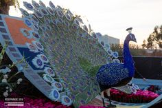 Rose Parade Floats 2016 Peacock