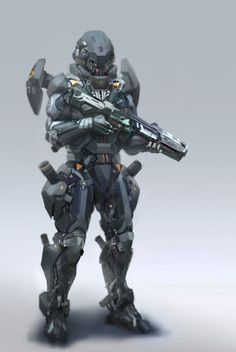 Sleipnir Industries- Project: Gestalt Armor: Model Gorgon VI