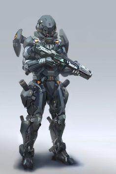 Sleipnir Industries- Project: Gestalt Armor: Model Gorgon VI