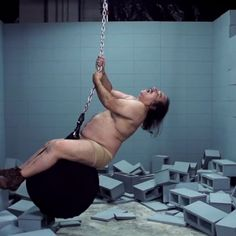 """Wrecking Ball"" by Ron Jeremy"