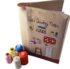 Personalised Sewing Notebook/Need to make me one of these!