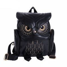 Backpacks Fashion Cute Owl Backpack Women Cartoon School Bags For Teenagers Girls PU Leather Women Backpack 2016 Brands Mochila Sac A Dos This is an AliExpress affiliate pin. View the item in details on AliExpress website by clicking the VISIT button Owl Backpack, Small Backpack, Backpack 2017, Computer Backpack, Mini Backpack, Bucket Backpack, Travel Backpack, Animal Print Backpacks, Girl Backpacks