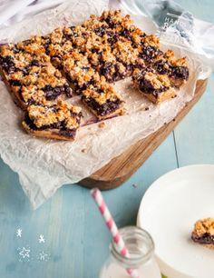 Baby Led Feeding Blueberry and Coconut Oat Bars with milk. Aileen Cox Blundell Homemade Healthy baby food.