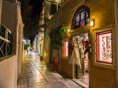 Oia Town, Santorini Island, Greece
