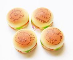 kiritori cup Rilakkuma + Hamburger in Squishy form!  Kawaii and loveable.  Approx Length: 5cm   Add more to cart to enjoy combined shipping discounts: https://ubertiny.storenvy.com