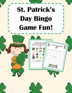 St. Patrick's Day Lucky Bingo! from EngagingLessons on TeachersNotebook.com (5 pages)