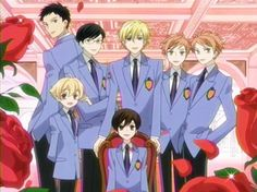 Ouran high school host club~ yes yes. Honey senpai is the oldest out of them all even though he's way shorter and way more immature(yes even more immature than Tamaki) than all of them he is the oldest host. Ouran Host Club, Ouran Highschool Host Club, Host Club Anime, High School Host Club, High School Funny, I Love Anime, Me Me Me Anime, Awesome Anime, Awesome Stuff