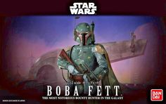 Star Wars Bandai Plastic Model Bobba Fett / NEW / Direct Shipping from Japan #Bandai