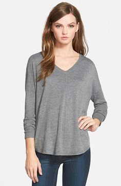 Trouvé 'Everyday' V-Neck Sweater available at #Nordstrom