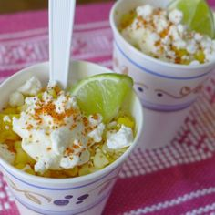 Esquites: Mexican Corn in a Cup