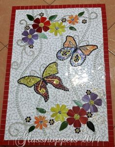 Butterfly panel by Glasshoppers