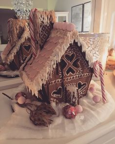 My gingerbreadhouse this year, 2017