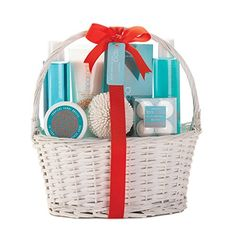 Tropical Sunny Breeze Spa Basket Bathroom Decore and Bathroom Accessories and Gifts ** Check out the image by visiting the link.