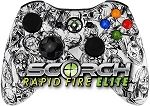 White Zombie Scorch Elite Rapid Fire Controller for Xbox 360