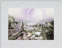 Bridge Of Spirits Framed Print Featuring the painting Bridge Of Spirits by Nandor Molnar (When you visit the Shop, change the size, frame, mat, paper and finish as you wish)