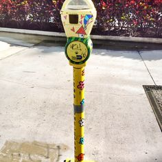Great Use Of Old Parking Meters In South Beach Insert Coins To Raise Money For