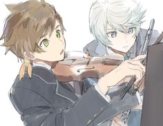 Sorey and Mikleo