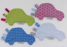 Knistertücher - Knistertuch * Auto - ein Designerstück von Dekozeit-NEU bei DaWanda