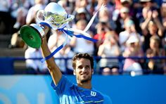 Feliciano Lopez Wins Eastbourne ATP Title Again. (Getty)