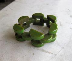 Bakelite link bracelet   Collectors Weekly