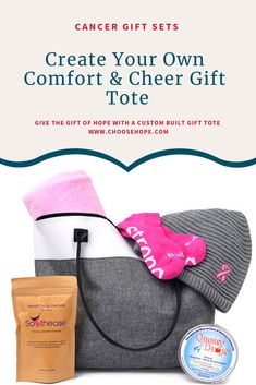 240522a729a6 Create your own gift tote filled with gifts perfect for cancer patients.   cancerawareness