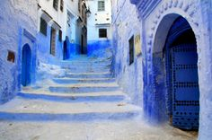 chaouen stairs