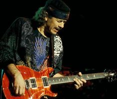 Carlos Santana, one of the best guitarists of our time!