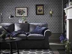 Hervorragend IKEA Deutschland | Graues EKTORP Sofa Vor Grauer Wand. #meinikea