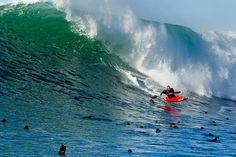 Kayak Surfing Nelscott Reef, Oregon