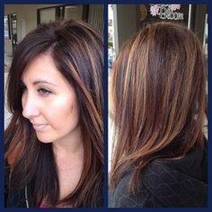 Ashley Marie - Gold On Grand Salon #DTLA #LA #Davines #hair