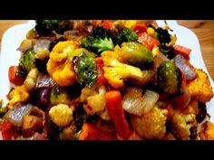 Easy Oven Roasted Vegetables Recipe - YouTube Roasted Vegetable Recipes, Roasted Root Vegetables, Veggies, Oven Roast, Vegan Vegetarian, Food To Make, Vegan Recipes, Cooking, Ethnic Recipes
