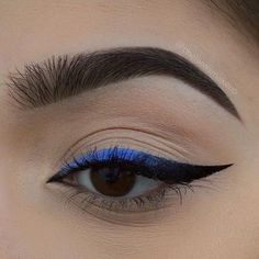 "Blue ombré liner  Brows: #anastasiabeverlyhills • dipbrow pomade In ""Ebony"" Liner: @smashboxcosmetics • always on gel liners ""blank"", ""bouncer"", ""private"", and ""fishnet"" #makeup #instamakeup #cosmetic #cosmetics #mua #fashion #eyeshadow #lipstick #gloss #mascara #palettes #eyeliner #lip #lips #tar #concealer #foundation #powder #eyes #eyebrows #eyelashes #primers #beauty #beautiful #morphebrushes #morphebabe #anastasiabeverlyhills #abh #anastasiabrows"