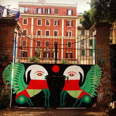 Gio Pistone - Italian Street Artist - Roma #giopistone #streetart