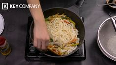 Check out our delicious vegetarian stir fry udon using the PN Diamond Coated Wok Pan. This wok pan is perfect for stir fry and for deep frying and works wond. Fried Udon, Vegetarian Stir Fry, Key Company, Vegetable Stir Fry, Recipe Using, Wok, Fries, Vegetables, Ethnic Recipes