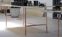 Exposed Copper Pipes - @ garde LA