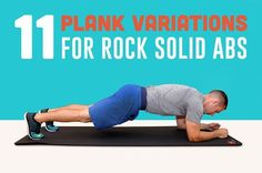 11 Plank Variations for Rock-Solid Abs