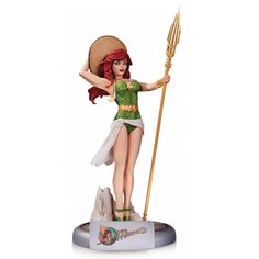It's The DC Comics Bombshells Statue - Mera. Bring the depths of Atlantis to the surface with this stunningly stylized statue of Aquaman's super-powered lady love, based on the popular pinup style of