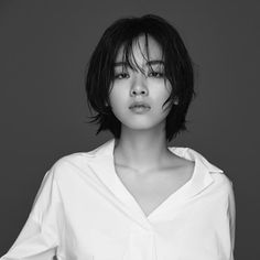 Lee Joo Young Actress, Lee Joo Young Hair, Short Hairstyles For Women, Hairstyles Haircuts, Tomboy Hairstyles, Girl Short Hair, Short Hair Cuts, Short Punk Hair, Hair Inspo
