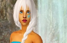 """Sim-request forizziessimsto make Kida from """"Atlantis: The Lost Empire"""". I hope you like her :)DOWNLOAD"""