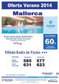 Mallorca: 60% hotel Piñero Bahía de Palma salidas desde Santiago de Compostela ultimo minuto - http://zocotours.com/mallorca-60-hotel-pinero-bahia-de-palma-salidas-desde-santiago-de-compostela-ultimo-minuto-2/