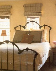 InStyle, June 2000 Magazine Feature from Antique Iron Beds by Cathouse...My Dream bed!