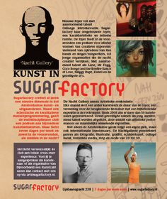 Advertentie Sugar Factory