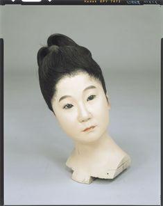 Raw doll _ Meiji era girl body Tokyo National Museum Image ID: C0098400 Shooting site: Front Column article number: I-868 author: Two generations, three generations Yasumoto Kamehachi Age: Meiji era _19c shape: High 32.3